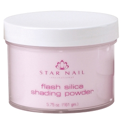 STAR NAIL Flash Silica Shading Powder Passionate Pink 5.75 oz. (662377)