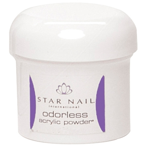 STAR NAIL Odorless Powder Clear 2 oz. (662436)