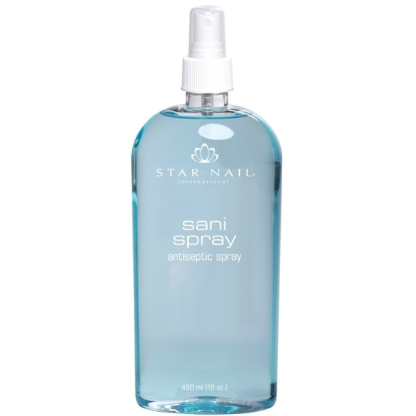 STAR NAIL Sani Spray Nail Antiseptic 16 oz. (662666)