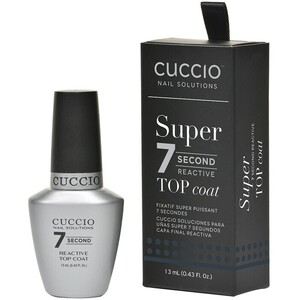 Cuccio Colour Super 7 Second Reactive Top Coat 0.43 oz. (663542)