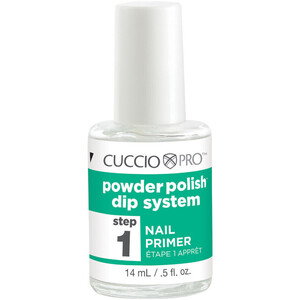 Cuccio Pro - Powder Polish Nail Colour Dip System - Step 1 - Nail Primer 0.5 oz. (663559)