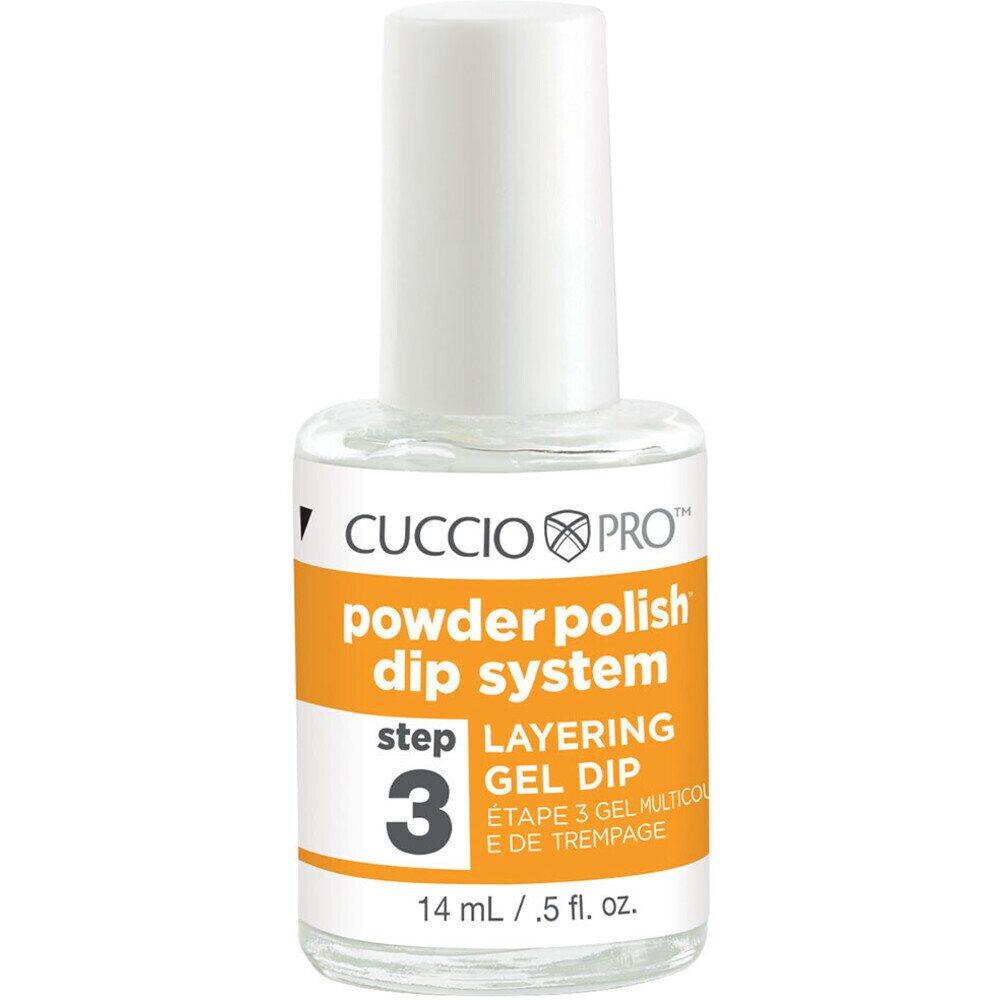 460060bf469 Cuccio Pro - Powder Polish Nail Colour Dip System - Step 3 - Layering Gel  Dip 0.5 oz. (663561)