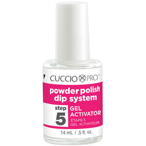 Cuccio Pro - Powder Polish Nail Colour Dip System - Step 5 - Gel Activator 0.5 oz. (663562)