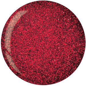Cuccio Pro - Powder Polish Nail Colour Dip System - Dark Red Glitter 1.6 oz. Net Wt. (663592)