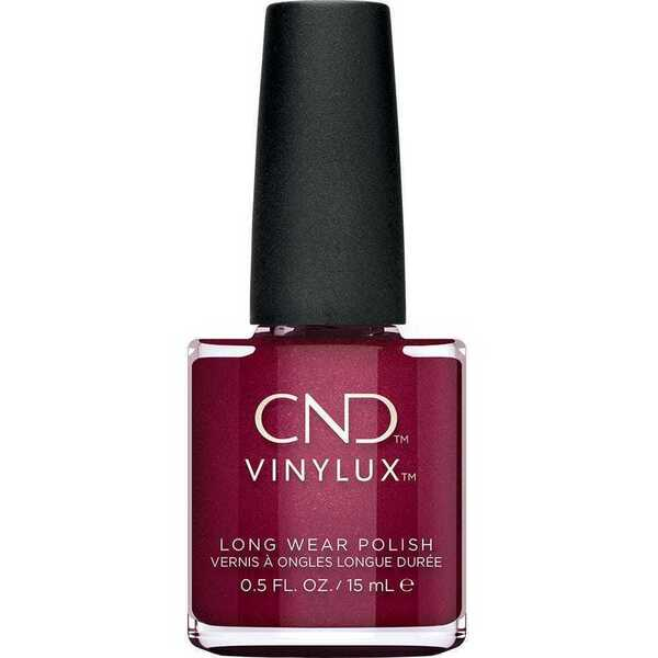 CND Vinylux - Crystal Alchemy Collection - Rebellious Ruby 0.5 oz. - 7 Day Air Dry Nail Polish (767242)