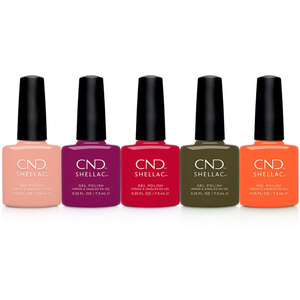 CND Shellac - Treasured Moments Collection - 6 Color Set - The 14 Day Manicure is Here! (768668)