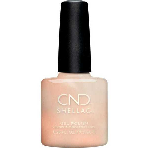CND Shellac - Crystal Alchemy Collection - Lovely Quartz 0.25 oz. - 7.3 mL. - The 14 Day Manicure is Here! (768669)