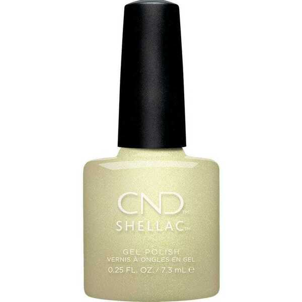 CND Shellac - Crystal Alchemy Collection - Divine Diamond 0.25 oz. - 7.3 mL. - The 14 Day Manicure is Here! (768671)