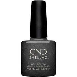 CND Shellac - Crystal Alchemy Collection - Powerful Hematite 0.25 oz. - 7.3 mL. - The 14 Day Manicure is Here! (768673)