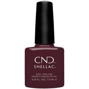 CND Shellac - Black Cherry 0.25 oz. - 7.3 mL. - The 14 Day Manicure is Here! (768697)