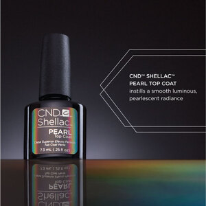 CND Shellac Special Effect Top Coat - Pearl Top Coat 0.25 oz. (768776)