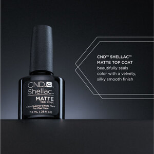 CND Shellac Special Effect Top Coat - Matte Top Coat 0.25 oz. (768777)