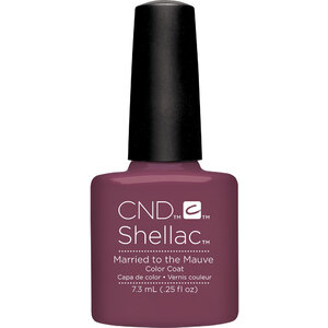CND Shellac - Married to the Mauve 0.25 oz. - 7.3 mL. - The 14 Day Manicure is Here! (768786)