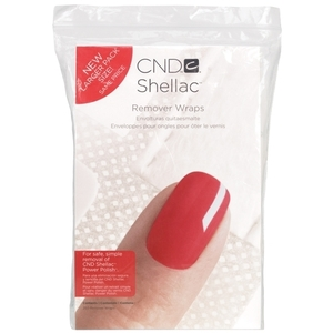 CND Shellac Remover Wrap Pack 250 Pack (768856)