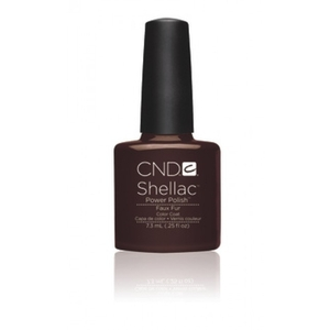 IN STOCK NOW! CND Shellac UV Color Coat Fall 2012 - Faux Fur