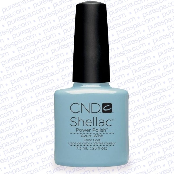 CND Shellac Spring 2013 Collection - Azure Wish / 0.25 oz. - 7.3 mL