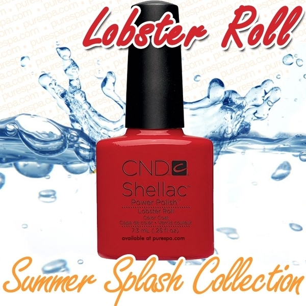 CND Shellac 2013 Summer Splash Collection - Lobster Roll / 0.25 oz. - 7.3 mL - The 14 Day Manicure is Here!