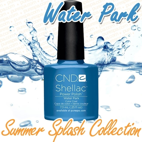 CND Shellac 2013 Summer Splash Collection - Water Park / 0.25 oz. - 7.3 mL - The 14 Day Manicure is Here!