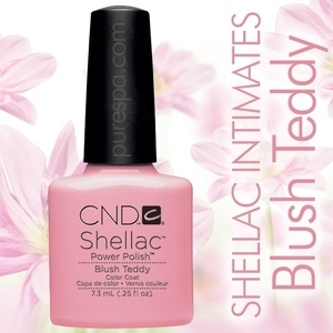 In Stock! CND Shellac 2013 Intimates Collection  / Blush Teddy