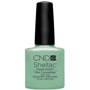 CND Shellac Open Road Collection Spring 2014 - Mint Convertible 0.25 oz. - 7.3 mL (768896)