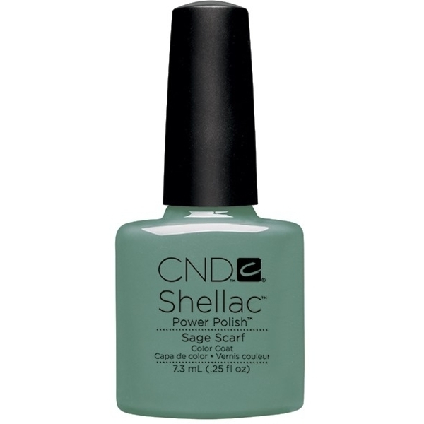 CND Shellac Open Road Collection Spring 2014 - Sage Scarf 0.25 oz. - 7.3 mL (768897)