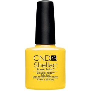 CND SHELLAC Bicycle Yellow - Paradise Summer Collection 2014 0.25 oz. (768910)
