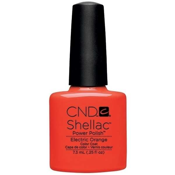 CND SHELLAC Electric Orange - Paradise Summer Collection 2014 0.25 oz. (768911)