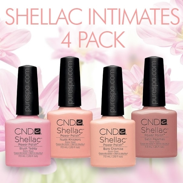 In Stock! CND Shellac 2013 Intimates Collection