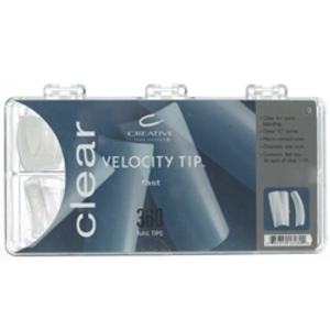 CND Clear Velocity™ Tips (769305)
