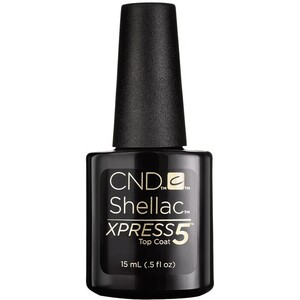 CND Shellac XPRESS5 Top Coat 0.5 oz. (769322)