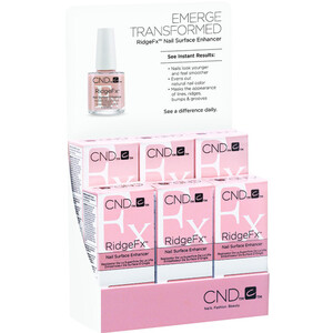 CND RidgeFx Display - 6 Pack 0.5 oz. Each (769795)