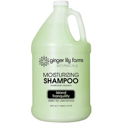 Ginger Lily Farms - Moisturizing Shampoo - Island Tranquility 1 Gallon (800312)
