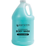 Ginger Lily Farms - Nourishing Body Wash - Ocean Breeze 1 Gallon (801704)
