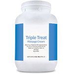 Triple Treat Massage Cream - Fragrance-Free 1 Gallon (802253)