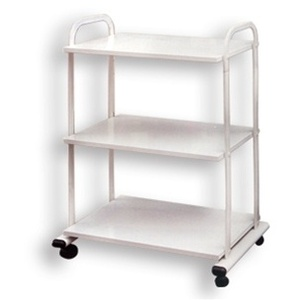 Alvida Wooden Cart with 4 Wheels (T-101)