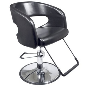 Encore Domenico Styling Chair Round Base (H-1228BK)
