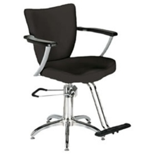 Encore Giuliano Styling Chair Star Base (H-1903BKS)