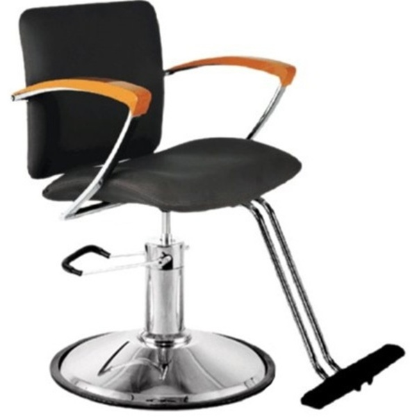Encore Tommaso Styling Chair Round Base (H-2110BKR)