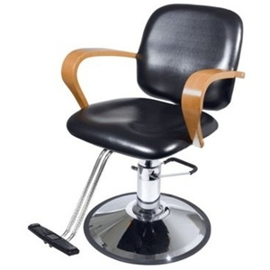 Encore Giovanni Styling Chair Round Base (H-2112BKR)