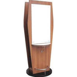 Encore Double Sided Wooden Styling Station with Mirrors (H-2505D)