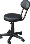 "Encore Air Lift Pedicure Stool 13"" - 17"" High Black (H-2602SB)"