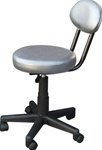"Encore Air Lift Pedicure Stool 13"" - 17"" High Gray (H-2602SG)"