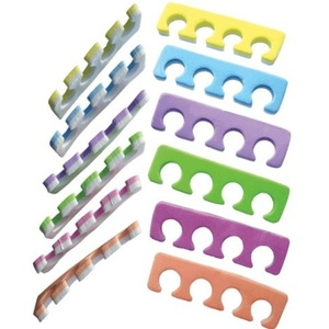 Encore 2-Tone Foam Toe Separators Mixed Colors 720 Pair Mega Case (TS-M6SD)
