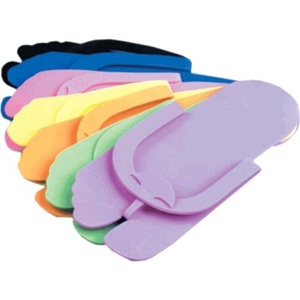 Encore Foam Pedicure Thong Slippers 504 Pair Case (DSF-M504)