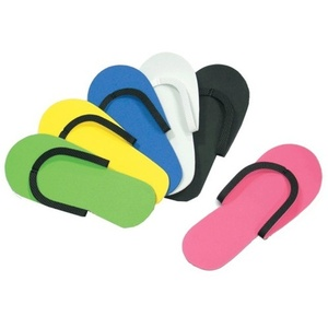 Encore Foam Pedicure Thong Slippers Mixed Colors 480 Pair Case (DTS-SR-M4)