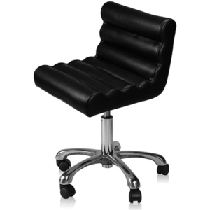 Encore Trendy Pedicure Technician Stool Black (FBC-7PB)