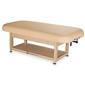 Napa Flat Top Spa Treatment Table Shelf Base ()