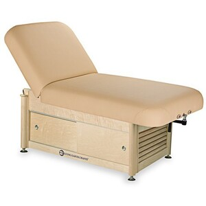 Napa Manual Tilt Spa Treatment Table Cabinet Base ()