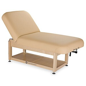 Napa Manual Tilt Spa Treatment Table Shelf Base ()