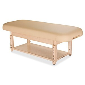 Sonoma Flat Top Spa Treatment Table Shelf Base ()